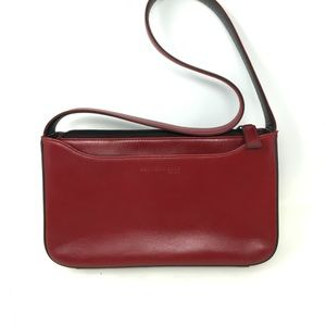 Kenneth Cole red leather shoulder bag nwot